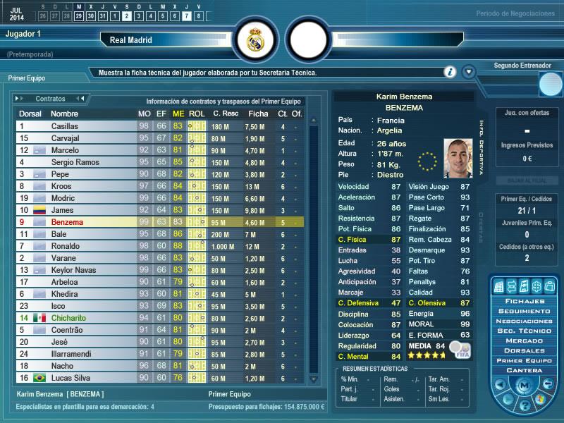 Primer Equipo - Karim Benzemá