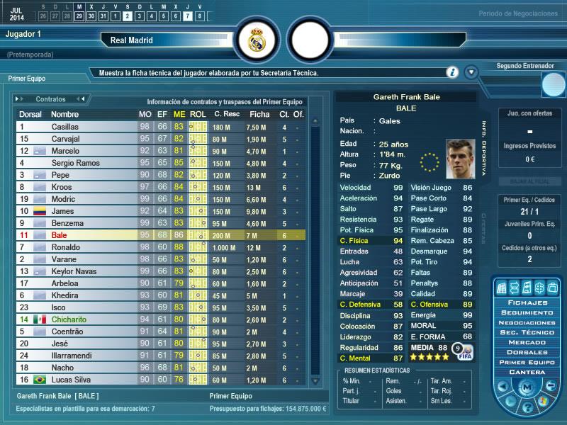 Primer Equipo - Gareth Bale